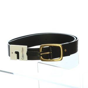 Calvin Klein Womens Belt Medium Genuine Leather